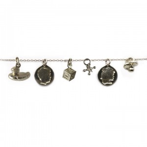 CH horizontal charms silver