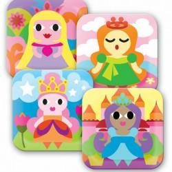 FB princess plate set