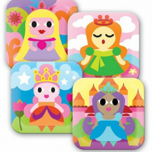 FB princess plate set