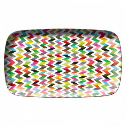 FB ziggy rectangular platter