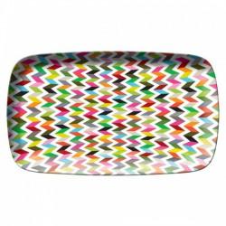 FB ziggy rectangular platter