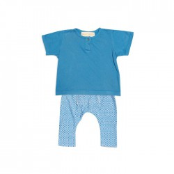 GGB boys henley set blue