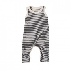 GGB long romper navy stripe