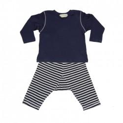 GGB navy baby set