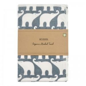 MB towel elephant folded