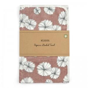 MB towel floral folded