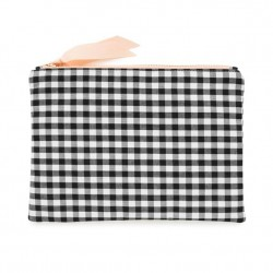 SP pouch gingham