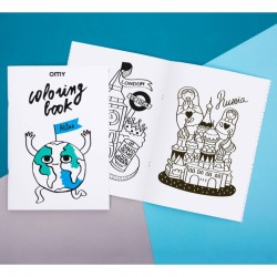 OMY coloring book